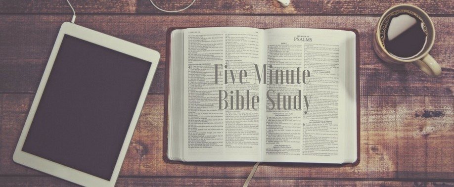 Five-Minute-Bible-Study-Home-Screen Welcome
